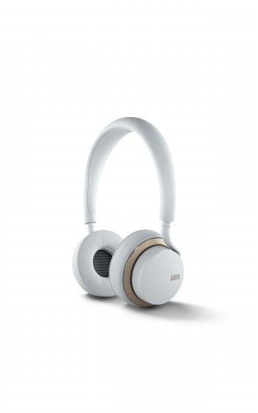 Jays U-JAYS Apple remote on-ear headphones in White and Gold